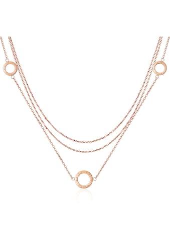 AILORIA Kette mit Anhänger »ANNABELLE Halskette Roségold«, Hochglanz-Finish kaufen