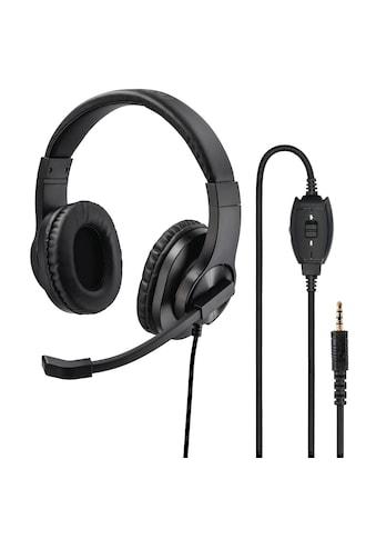 "Hama PC - Office - Headset ""HS - P350"", Stereo, Schwarz kaufen"
