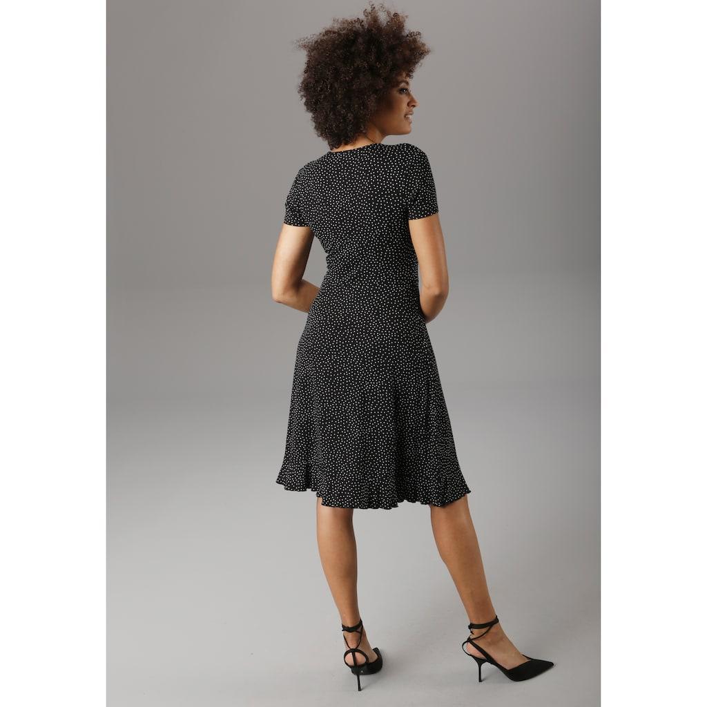 Aniston SELECTED Sommerkleid, mit Volant