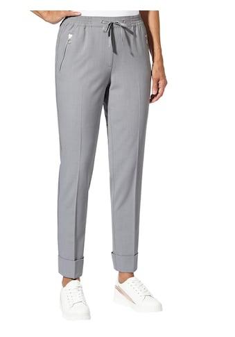 Classic Inspirationen Hose in fließender Melange - Qualität kaufen