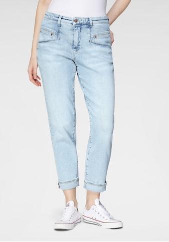 MAC Ankle-Jeans »Rich-Carrot«, Besondere Taschenlösung sorgt für eine schlanke Optik kaufen