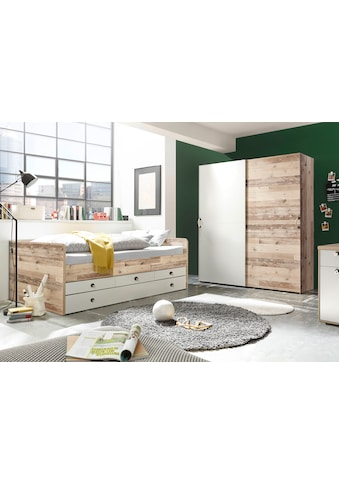 Begabino Bett »Leni«, mit 3 Schubkästen und ausziehbarer Liegefläche kaufen