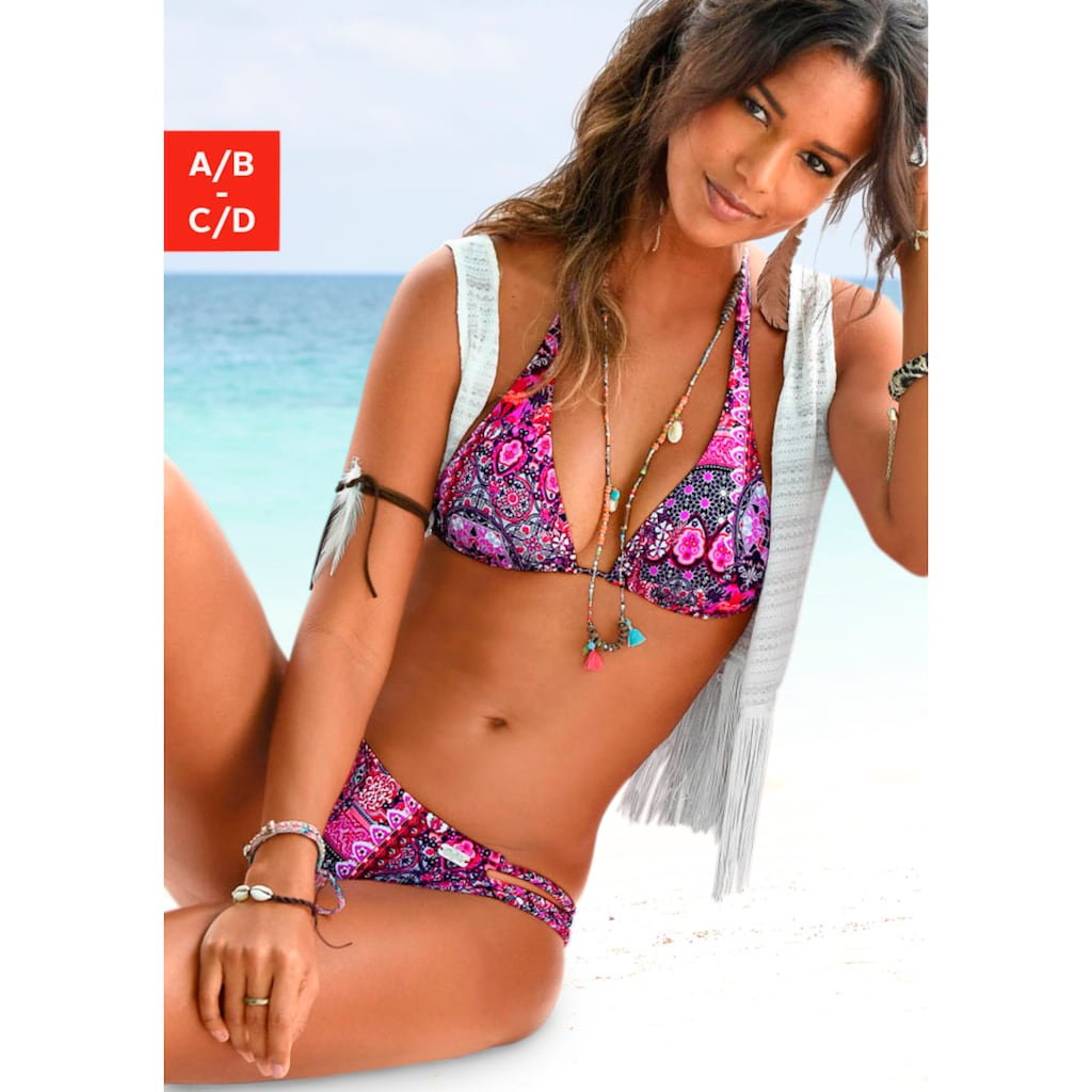 Buffalo Triangel-Bikini-Top »Shari«, mit Paisleydruck