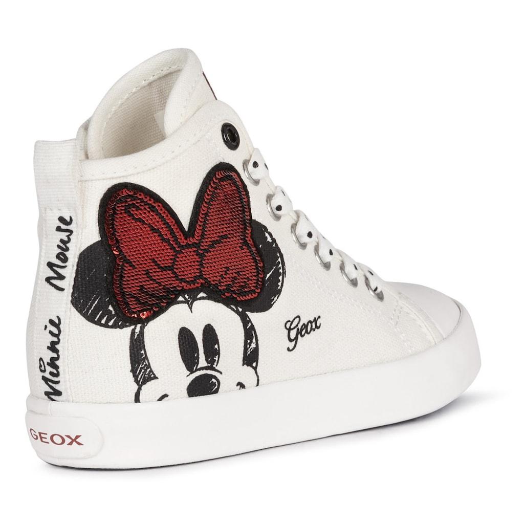 Geox Kids Sneaker »CIK GIRL«, mit Minnie-Maus Print