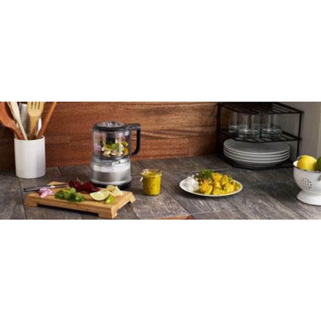 KitchenAid Zerkleinerer »5KFC3516ECU Mini-Food-Processor«, 240 W, Farbe: KONTUR SILBER