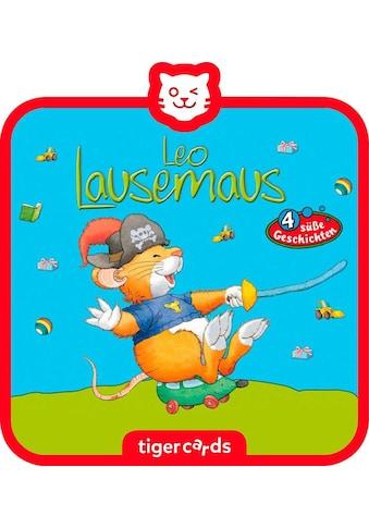 tigerbox Hörspiel, »Leo Lausemaus  -  Folge 10: Geht auf Schatzsuche« kaufen
