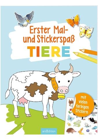 Buch »Erster Mal- und Stickerspaß Tiere / Corina Beurenmeister« kaufen