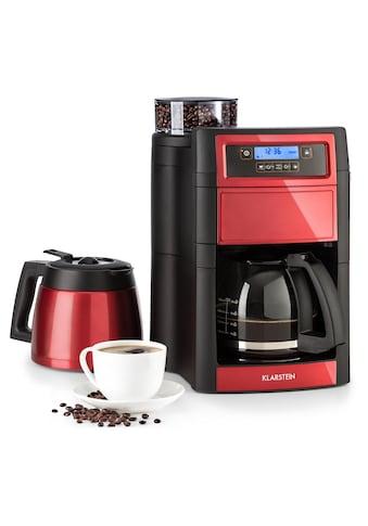 Klarstein Kaffeemaschine mit Mahlwerk »KG13-Aromatica II sR«, goldfarbener... kaufen