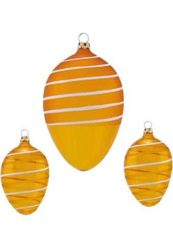 Thüringer Glasdesign Osterei »Spirale«, mundgeblasen, handdekoriert kaufen