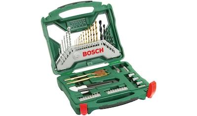 BOSCH Bohrer -  und Bit - Set »X - Line Titanium«, 50 - tlg. kaufen
