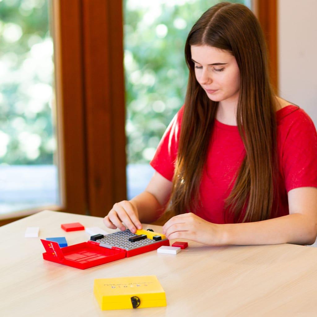 Mondrian Blocks Spiel »Red Edition«
