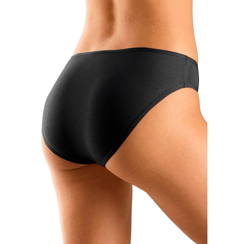 Go in Bikinislip, (10 St.), in frischen Uni-Farben