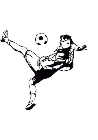 Wall-Art Wandtattoo »Fußball Kicker Aufkleber« kaufen