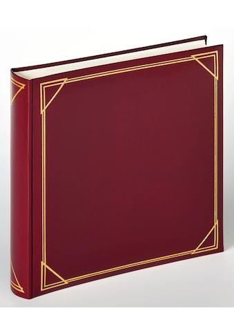 Walther Fotoalbum »Classicalbum Standard, weinrot, 30x30 cm« kaufen