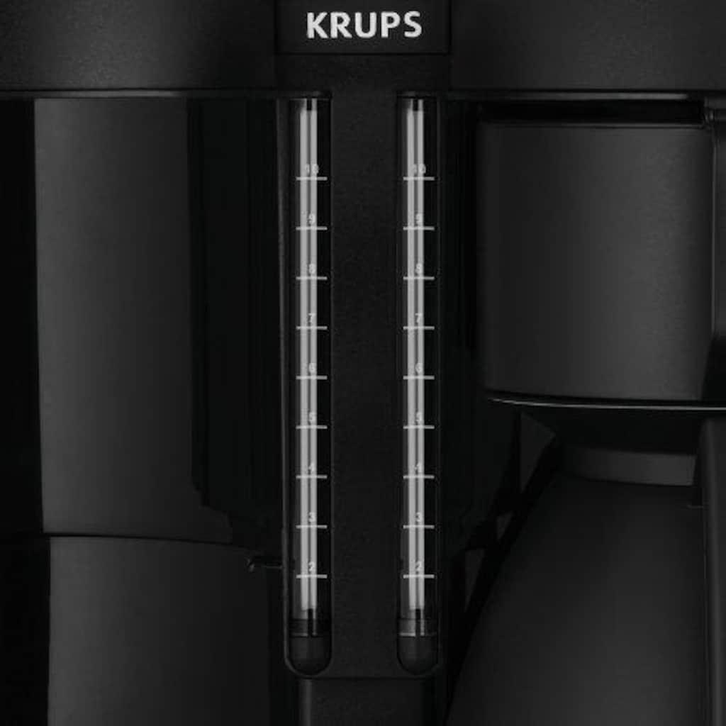 Krups Filterkaffeemaschine »Duothek KT8501«, Papierfilter, 1x4, Doppelkaffeeautomat