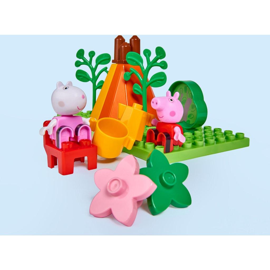 BIG Konstruktions-Spielset »BIG-Bloxx Peppa Pig Camping Set«, (25 St.)