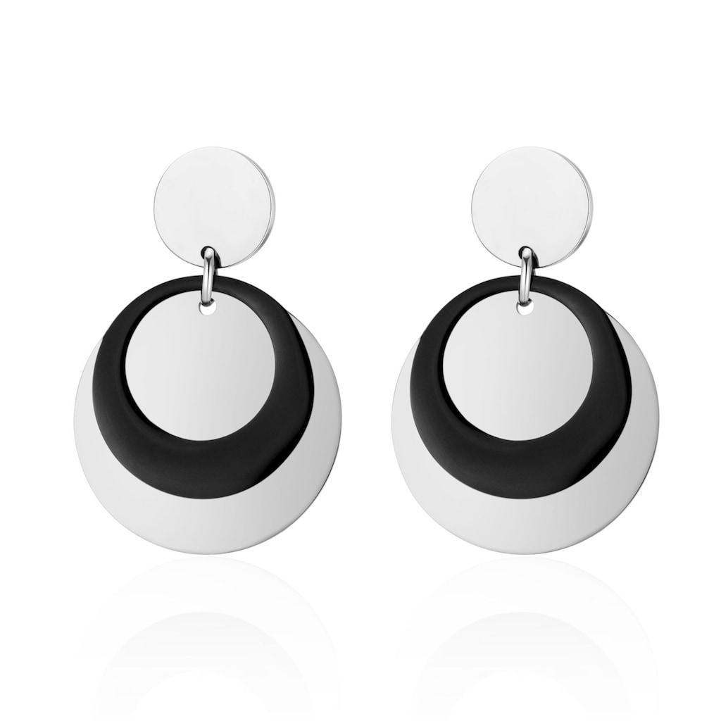AILORIA Paar Ohrhänger »AMBRE Ohrringe«, aus glänzendem Edelstahl