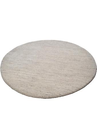 THEKO Wollteppich »Amravati«, rund, 28 mm Höhe, reine Wolle, echter Berber,... kaufen