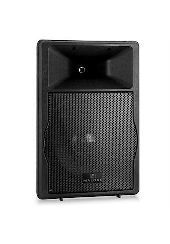 Malone 2 Wege Konzertlautsprecher PA Lautsprecher Monitor Box 1500W kaufen