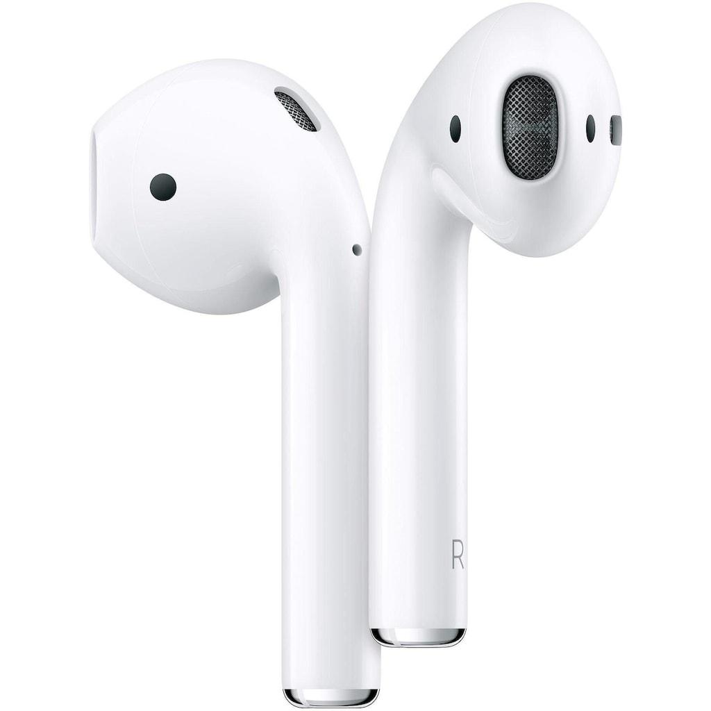 Apple wireless In-Ear-Kopfhörer »AirPods (2019), mit Ladecase«, Bluetooth, Sprachsteuerung, MRXJ2ZM/A