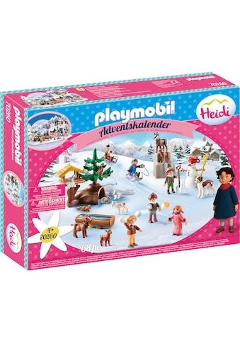 """Playmobil® Adventskalender """"Heidis Winterwelt (70260), Heidi"""" (68 - tlg.) kaufen"""
