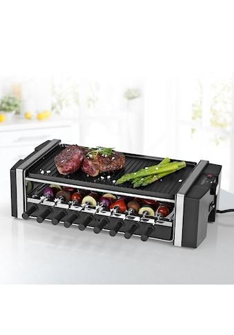 MAXXMEE Raclette »Multi-Raclette-Grill 3in1«, 6 St. Raclettepfännchen, 1200 W kaufen
