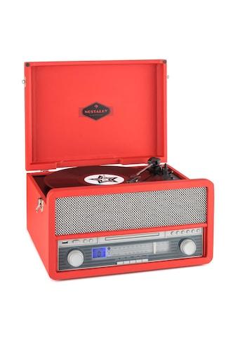 Auna Nostalgie Radio Kompaktanlage Plattenspieler Kassettenrecorder »Epoque 1907« kaufen