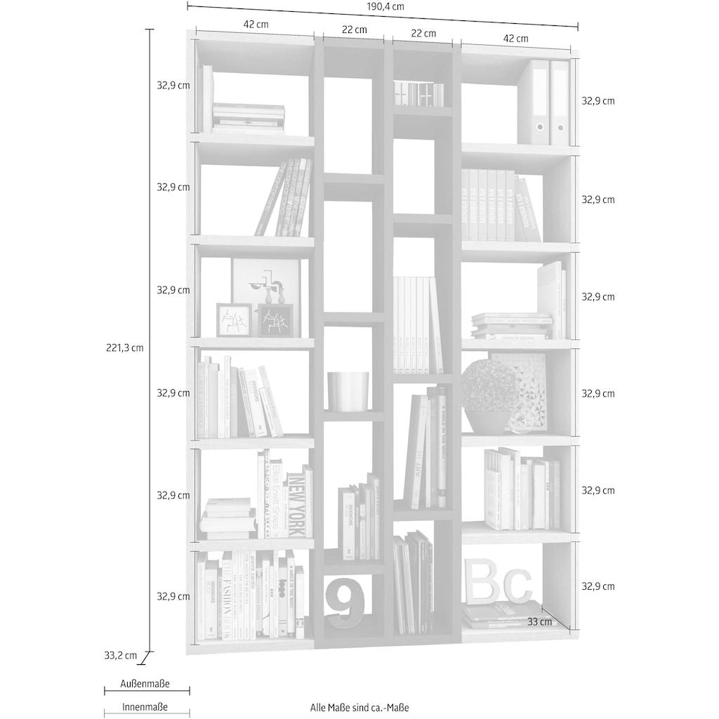 Raumteilerregal »TOR391-5«, Breite 145 cm