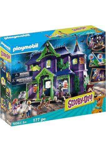 """Playmobil® Konstruktions - Spielset """"SCOOBY - DOO! Abenteuer im Geisterhaus (70361), SCOOBY - DOO!"""", Kunststoff kaufen"""