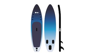 YEAZ Inflatable SUP-Board »OCEAN BEACH«, (5 tlg.), inkl. Alu-Paddel, Handpumpe, Repair-Kit und Rucksack kaufen