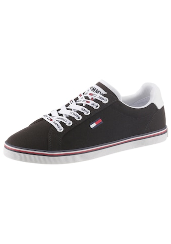 TOMMY JEANS Sneaker »ESSENTIAL LACE UP SNEAKER«, mit Logoemblem kaufen