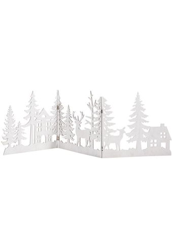 Dekoobjekt »Waldzauber«, Weihnachts-Silhouette zum Aufklappen kaufen
