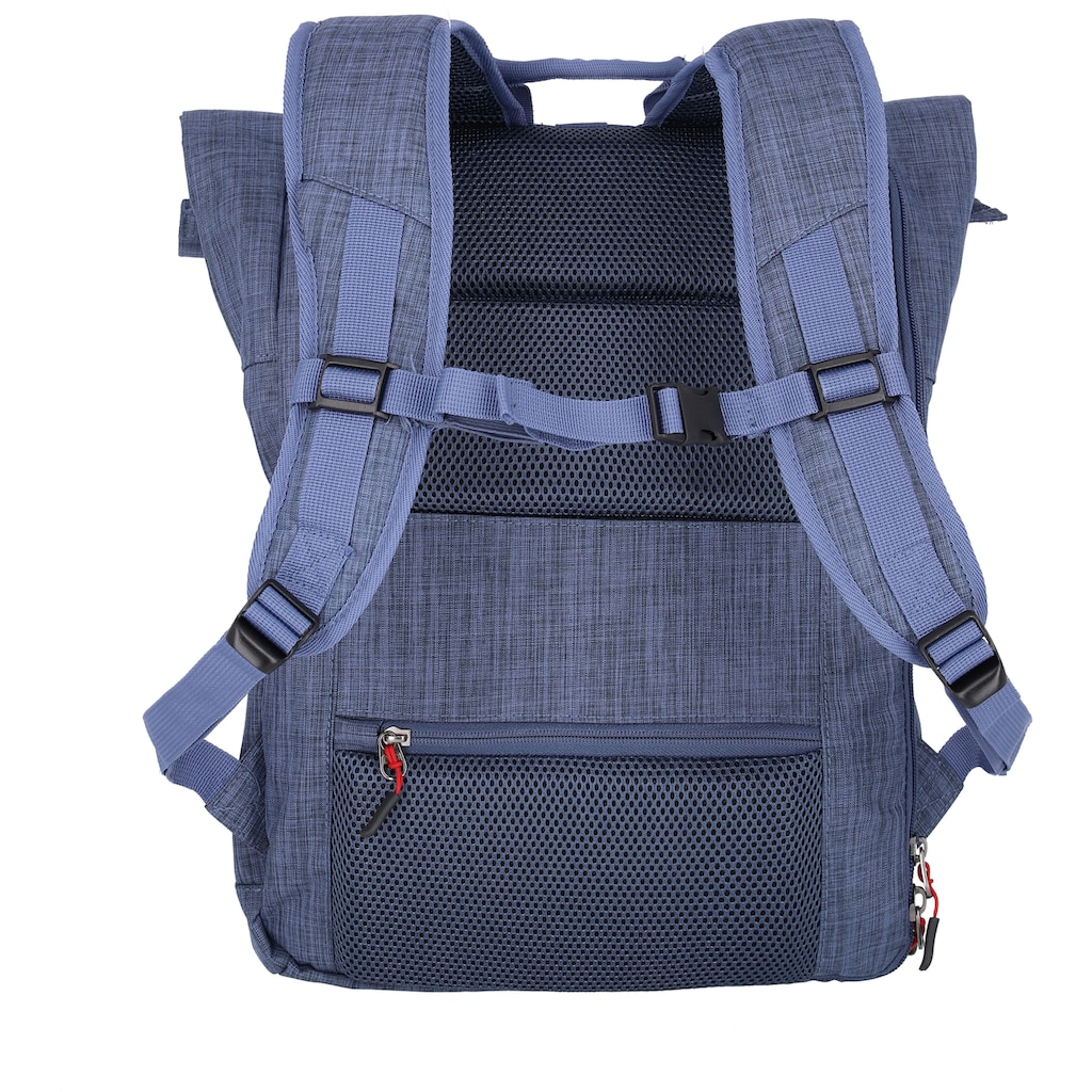 travelite Laptoprucksack »Proof, Rollup, 60 cm«
