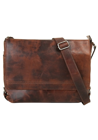 Harold's Messenger Bag »SADDLE«, vegetabil gegerbt kaufen