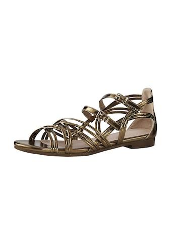 Sandalette in Metallic-Optik kaufen