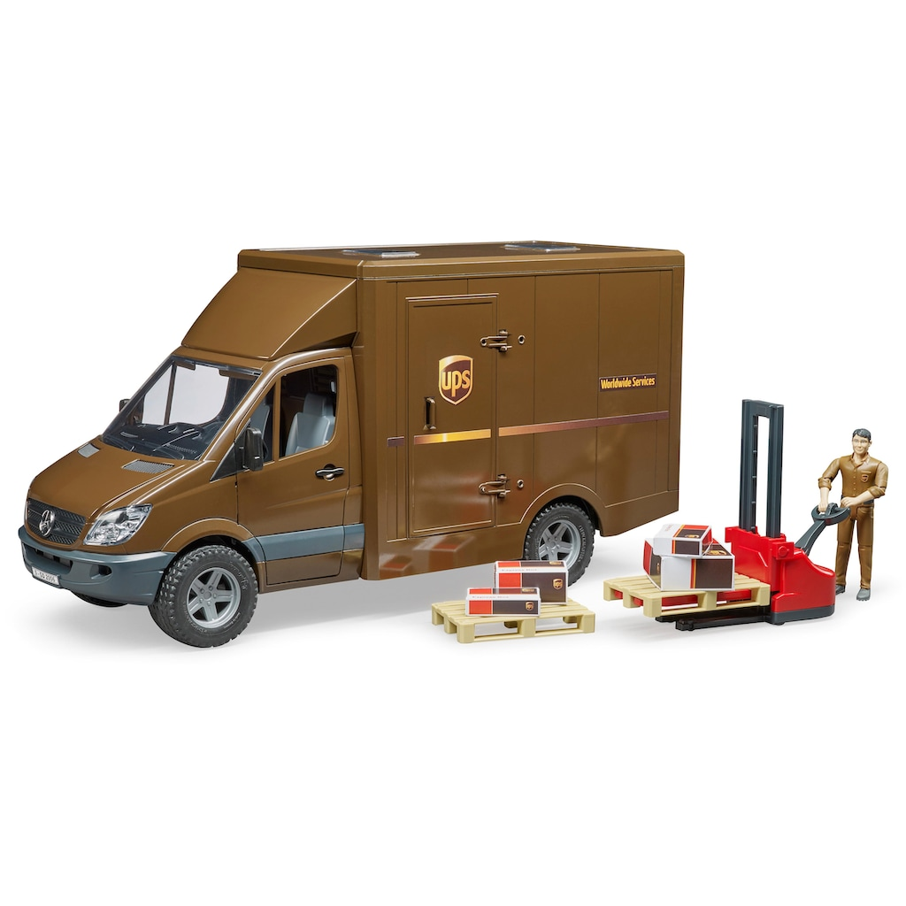 Bruder® Spielzeug-LKW »Mercedes Benz Sprinter UPS«, Made in Germany