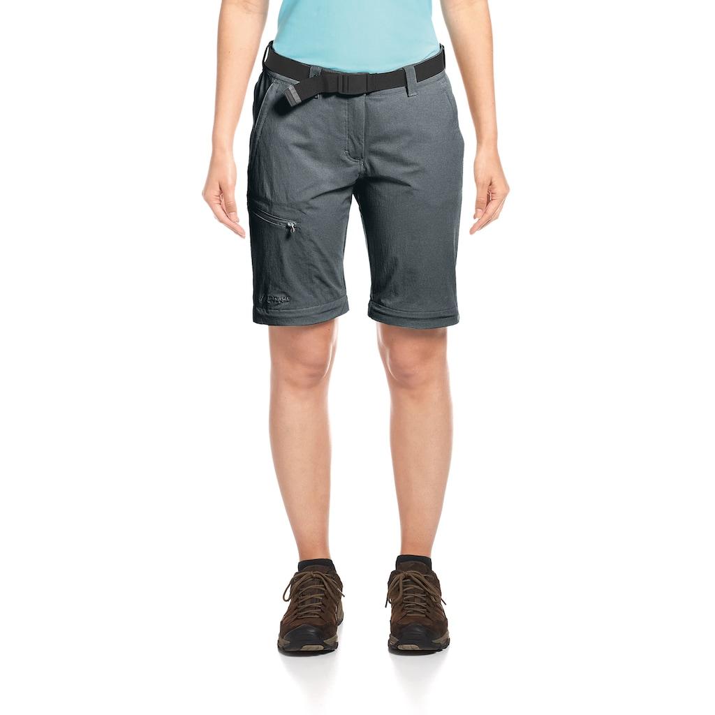 Maier Sports Funktionshose »Nata«, T-Zipp-Off Wanderhose atmungsaktiv und schnelltrocknend