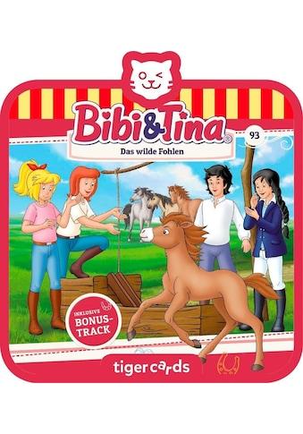 tigerbox Hörspiel, »Bibi & Tina  -  Folge 93: Das wilde Fohlen« kaufen