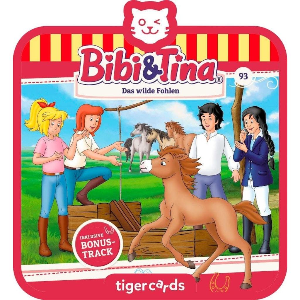 tigerbox Hörspiel »Bibi & Tina - Folge 93: Das wilde Fohlen«