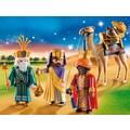 "Playmobil® Konstruktions-Spielset ""Heilige Drei Könige (9497), Christmas"", Kunststoff"