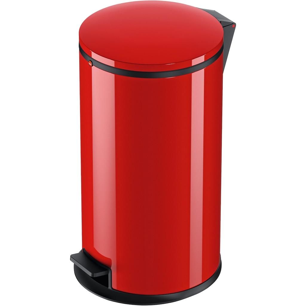 Hailo Mülleimer »Pure L«, rot, Fassungsvermögen ca. 25 Liter