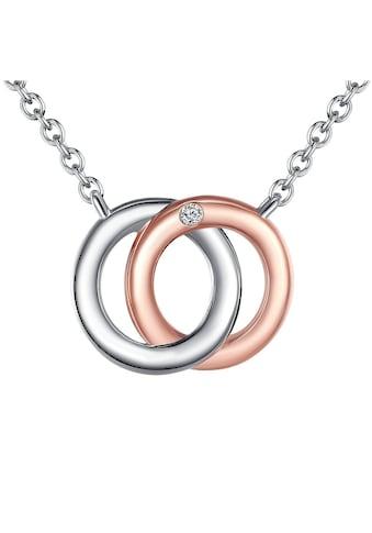 Rafaela Donata Silberkette »ST127«, (1 tlg.), mit Diamant kaufen