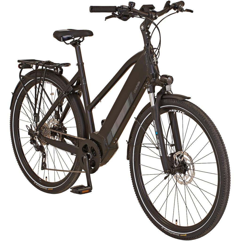 "Prophete E-Bike »ENTDECKER Trekking E-Bike 28""«, 10 Gang, Shimano, Shimano XT, Mittelmotor 250 W"