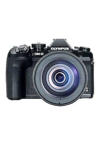 Olympus Spiegelreflexkamera »E-M1 Mark III 12-100mm Kit blk/blk«, WLAN (WiFi)-Bluetooth kaufen