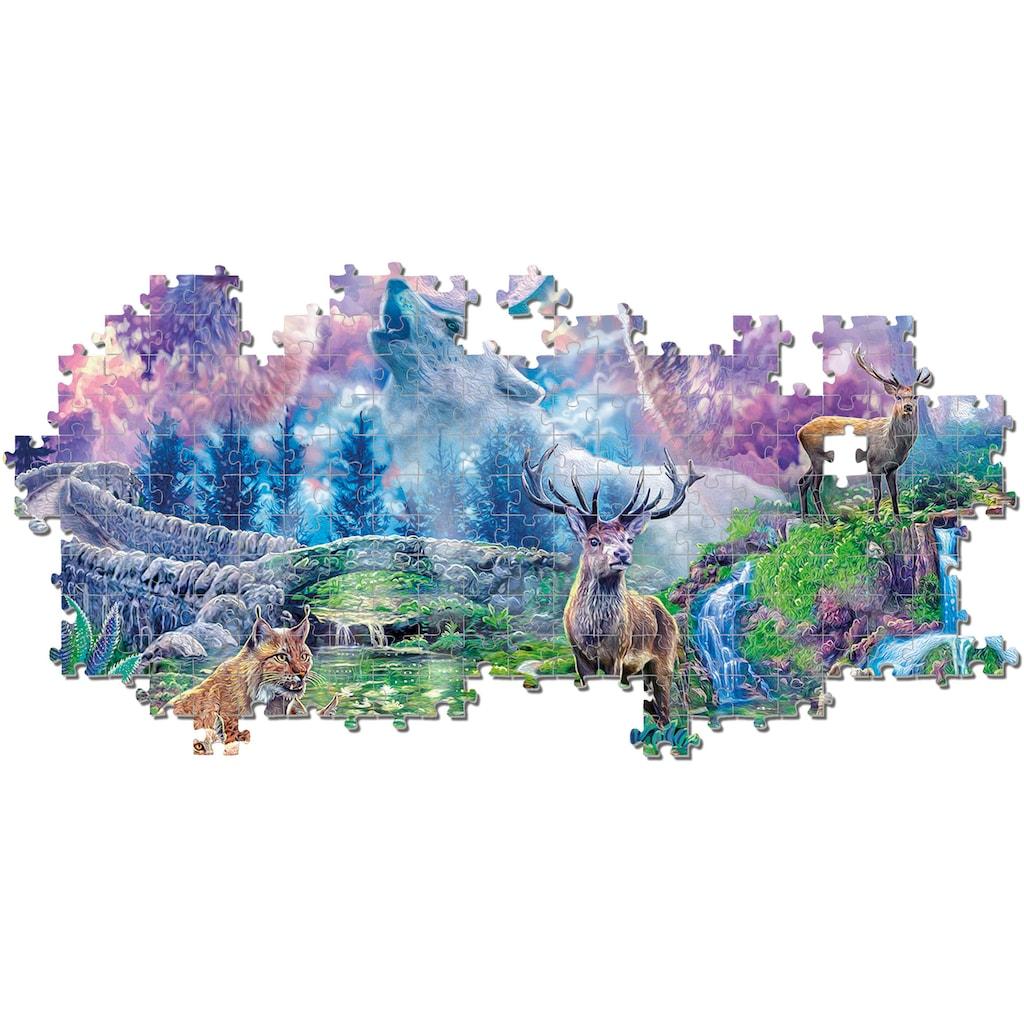 Clementoni® Puzzle »High Quality Collection - Waldtiere im Mondschein«, Made in Europe, FSC® - schützt Wald - weltweit
