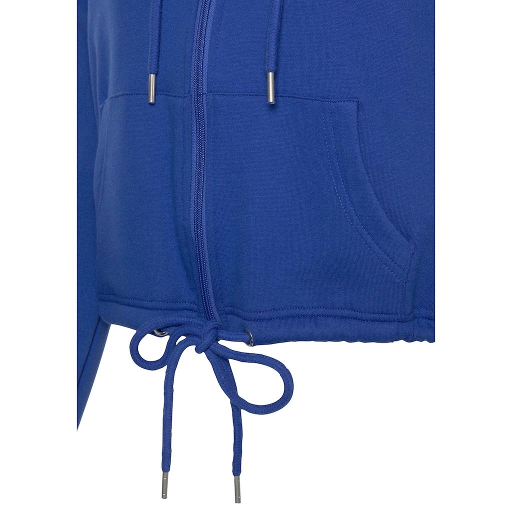Bench. Kapuzensweatjacke, mit Logodruck auf dem Rücken