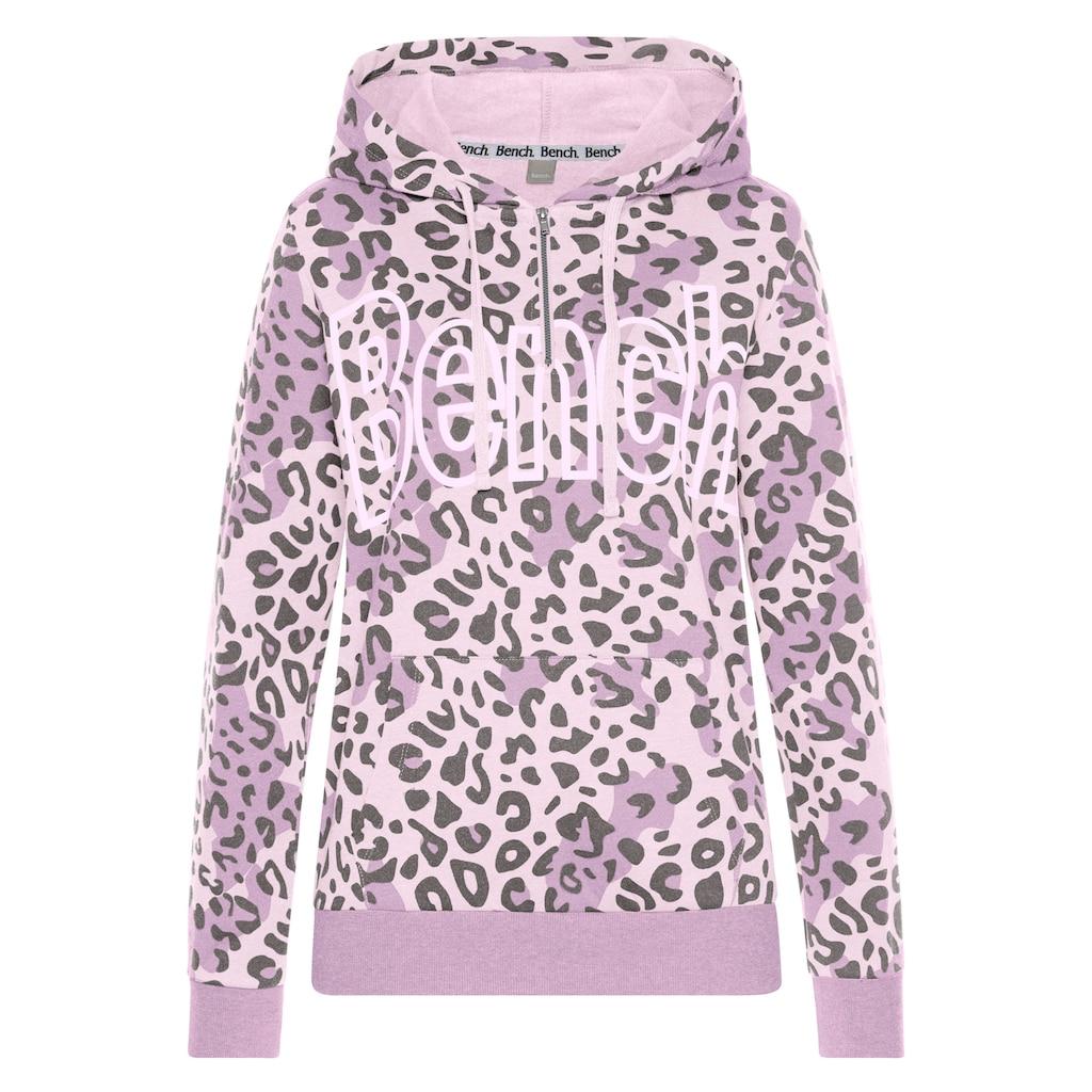 Bench. Sweatshirt, mit Animalprint