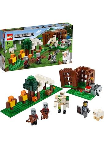 LEGO® Konstruktionsspielsteine »Der Plünderer-Außenposten (21159), LEGO® Minecraft™«,... kaufen