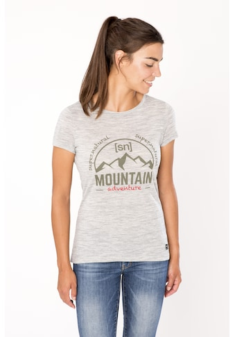 SUPER.NATURAL T - Shirt »W ADVENTURE PEAKS TEE« kaufen