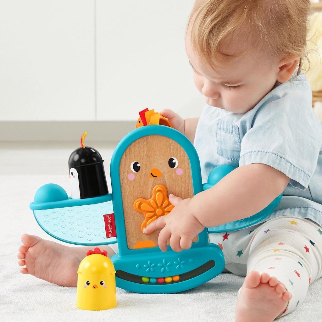 Fisher-Price® Stapelspielzeug »Stapel & Schaukel Vögelchen«